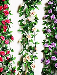 1 Branch Rose Vine Artificial Flowers Home Decoration Wedding Supply