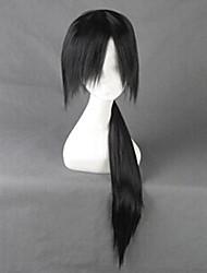 Cosplay Wigs Naruto Itachi Uchiha Black Long Anime Cosplay Wigs 80 CM Heat Resistant Fiber Male