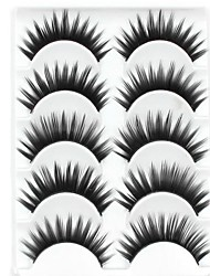 cheap -Eyelashes lash Eyelash Thick Natural Long Volumized Natural Thick Fiber