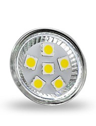 4W GU4(MR11) LED Spotlight MR11 6 SMD 5050 350 lm Cold White 6000-6500 K Decorative DC 12 V 1pc
