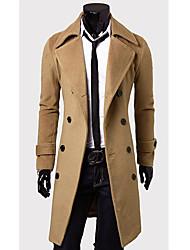 fannuo herremode langærmet frakke