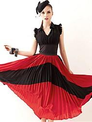 Недорогие -Joanne Kitten женщин многоцветные юбки, марочные / пляж / вскользь / партия / работа миди