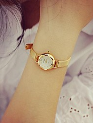cheap -Women's Wrist Watch Chinese Casual Watch / Cool Alloy Band Charm / Fashion Gold