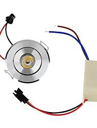 baratos -YouOKLight 110 lm Lâmpada de Teto Encaixe Embutido 1 leds LED de Alta Potência Decorativa Branco Quente AC 85-265V