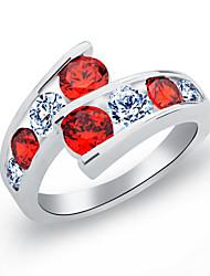 billige -Ring - Stilfuld Hvid / Rød / Regnbue Til Bryllup / Fest / aften
