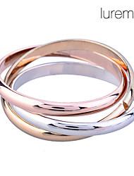 Недорогие -Жен. Кольцо Go Rings Позолота Сплав Необычные Уникальный дизайн Мода Свадьба Повседневные Бижутерия Русское обручальное кольцо