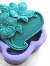 رخيصةأون -زهرة shaoed أدوات الديكور فندان كعكة الشوكولاته سيليكون كعكة العفن، l9.5cm * * w8.6cm h3.5cm