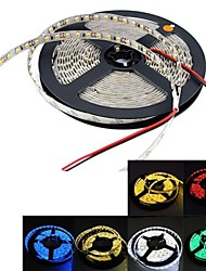 cheap -Flexible LED Light Strips 300 LEDs Warm White White Green Yellow Blue Red DC 12V