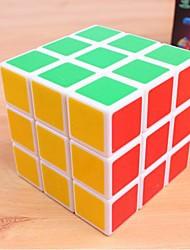 Rubikova kocka 3*3*3 Glatko Brzina Kocka Magične kocke Male kocka Stručni Razina Brzina plastika ABS Kvadrat New Year Dječji dan Poklon
