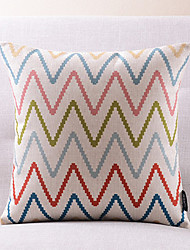 1 pcs Cotton/Linen Pillow Cover,Text Country