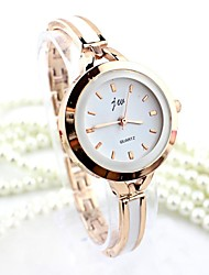 cheap -Women's Quartz Bracelet Watch Imitation Diamond Alloy Band Dress Watch Fashion Bangle Silver Gold