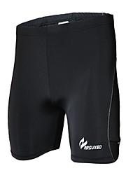 Arsuxeo Homens Shorts de Corrida Secagem Rápida Design Anatômico Vestível Anti-Estático Respirável Compressão Meia-calça Roupas de