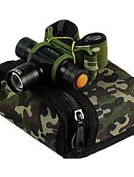 abordables -Jujingyang JY-201 Lampes Frontales LED 3 Mode d'Eclairage Faisceau Ajustable / Rechargeable / Imperméable Camping / Randonnée /