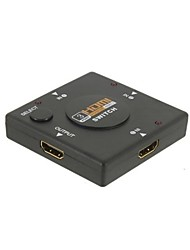 abordables -3 hdmi puerto del switch divisor switcher fo 3in1 1080p HDTV