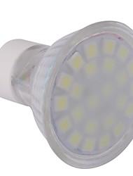 GU10 LED Spotlight MR16 24 SMD 5050 360 lm Cold White 6000-6500 K AC 220-240 V