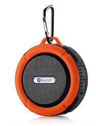 cheap -C6 Mini Portable IPX5 Waterproof Bathroom Hang Hook Wireless Bluetooth Speaker Supports Handsfree Functions