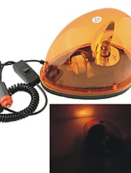 cheap -Carking™ 12V Car Vehicle Halogen Warning Light Flashing Strobe Light with Magnetic Base--Yellow