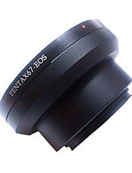 billige -adapter ring til pentax67 til Canon EF-objektiv canon eospentax67-eos
