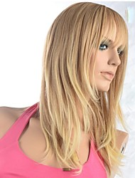 cheap -Synthetic Wig Blonde Women's Black Wig Synthetic Hair