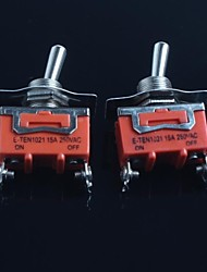 cheap -Toggle Switch (Feet Second Gear) 15A 250VAC(2Pcs)