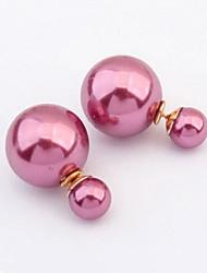 Kvinders elegante perleøreringe