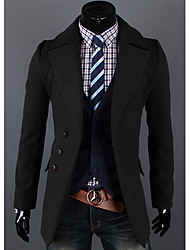 cheap -Men's Chic & Modern Blazer-Solid Colored,Formal Style