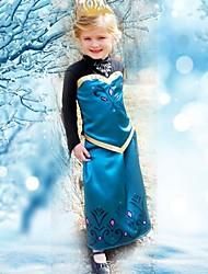 piges sommerkjole prinsesse dress langærmede kjole