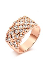 cheap -Ring Women's Rose Gold Rose Gold 5 / 6 / 7 / 8 / 9 Pink Gold