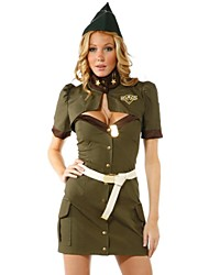 cheap -Uniforms Cosplay Costume Female Festival / Holiday Halloween Costumes Hollow