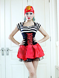 cheap -Super Sexy Womens Pirate Halloween Costume(2Pieces)