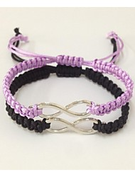 cheap -Women's Charm Bracelet - Infinity Unique Design, Fashion Bracelet Black / Purple For Christmas Gifts Wedding Party