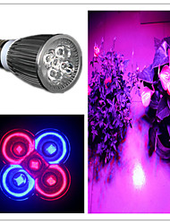 cheap -5W 200-300 lm E26/E27 LED Spotlight MR16 5 leds High Power LED Purple AC 85-265V