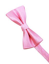 festa masculina / casamento noturno formal rosa&gravata de poliéster poliéster de prata