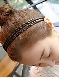 Недорогие -прекрасный цветок льна саго косу волосы группа (1шт)