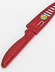 apara faca de plástico de metal + 20 × 3 × 4 cm (7,9 × 1,2 × 1,6 polegadas)