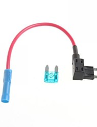 Car In Circuit Blade Fuse Holder with 20A Blade Fuse - M