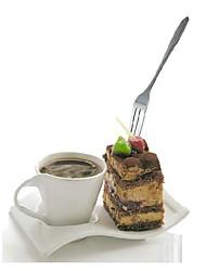 fruto de aço inoxidável garfo / garfo bolo