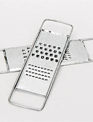 ralador multifuncional, aço inoxidável 25,5 × 7,2 × 4 cm (10,0 × 2,9 × 1,6 polegadas)
