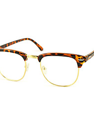 cheap -[Free Lenses] Acetate Browline Full-Rim Fashion Prescription Eyeglasses