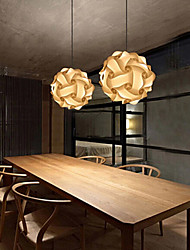 economico -maishang® diy palla pendente lampada moderna iq 25 centimetri