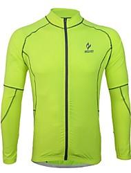 Arsuxeo Camisa para Ciclismo Homens Manga Longa Moto Camisa/Roupas Para Esporte Blusas Secagem Rápida Design Anatômico Respirável Tiras