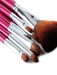 7 Brush Sets Syntetisk Hår Ansigt MSQ
