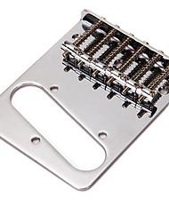 Недорогие -хром аксессуары запасные мост пластина для электрической гитары TL