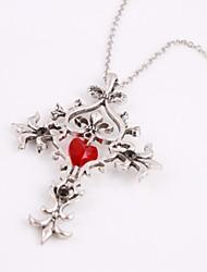 economico -Moda the vampire diaries attraversano pandent della collana della lega d'argento pendente film (1 pc)