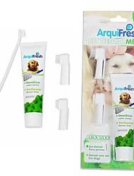 Недорогие -зубная паста и чистка зубной щетки подходят для домашних собак
