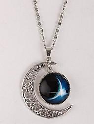 женская галактика звезда драгоценный камень время Луна ожерелье