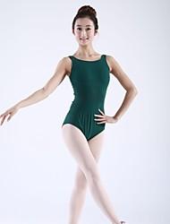 cheap -Ballet Tops Women's Children's Cotton Sleeveless