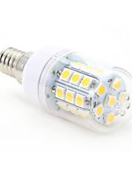 4W E14 Ampoules Maïs LED T 30 diodes électroluminescentes SMD 5050 Blanc Chaud 300-350lm 2800-3000K AC 100-240V