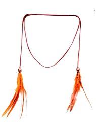 lureme® accessori per capelli piuma perline colore della caramella sweetlovely
