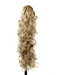 cheap -Ponytails Hair Piece Hair Extension Wavy Daily